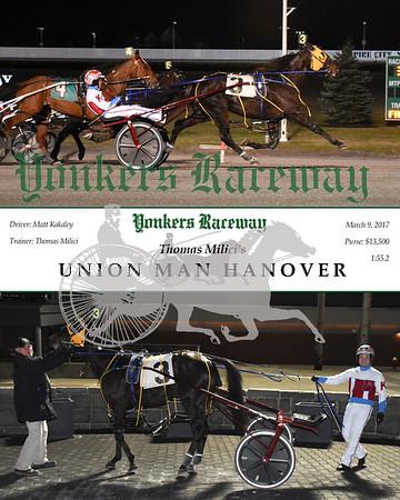 20170309 Race 3- Union Man Hanover
