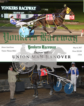 20170516 Race 8- Union Man Hanover