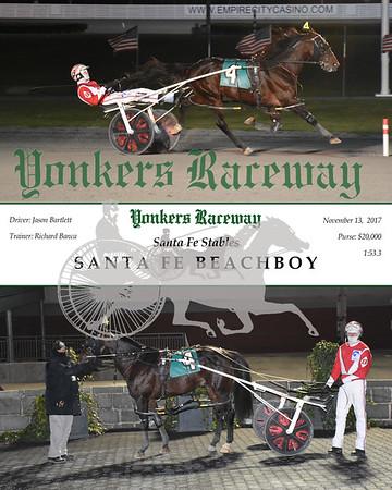 11132017 Race 12-Santa Fe Beachboy