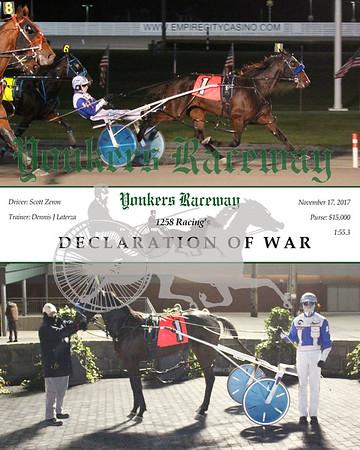 20171117 Race 5- Declaration Of War