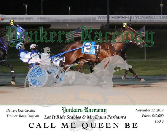 20171117 Race 6- Call Me Queen Be