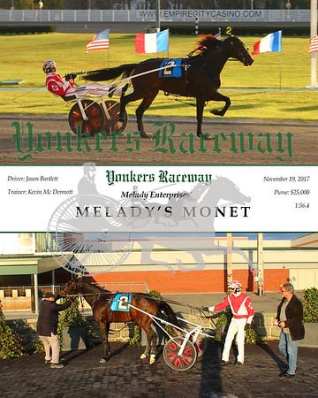20171119 Race 9- Melady's Monet