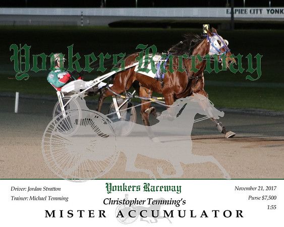 20171121 Race 6- Mister Accumulator 2