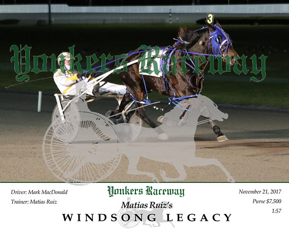 20171121 Race 2- Windsong Legacy 2