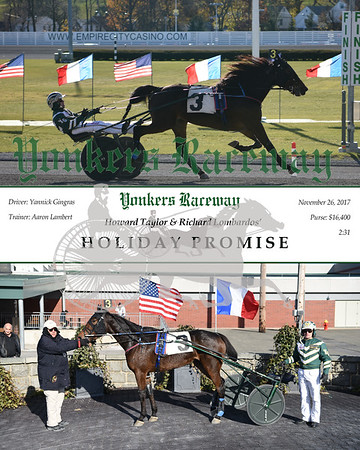 20171126 Race 5- Holiday Promise