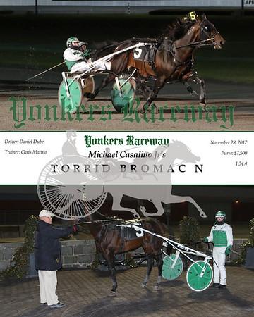 20171128 Race 5- Torrid Bromac N