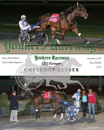 20171104 Race 4- Cheyenne Seeber
