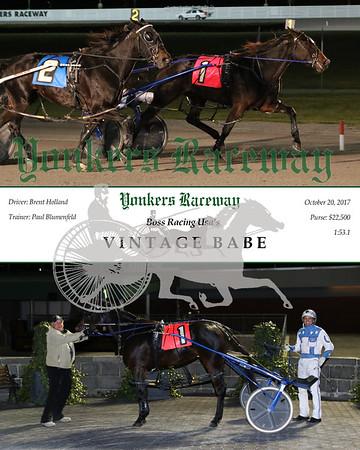 20171020 Race 6- Vintage Babe