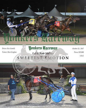 10232017 Race 9-Sweetest Emotion