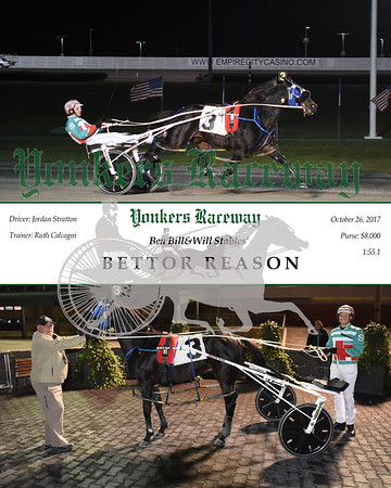 20171026 Race 4- Bettor Reason N