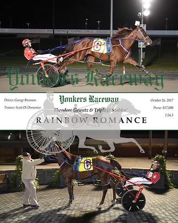 20171026 Race 10- Rainbow Romance N