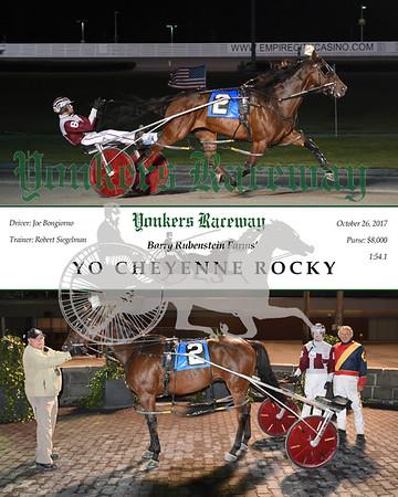 20171026 Race 3- Yo Cheyenne Rocky