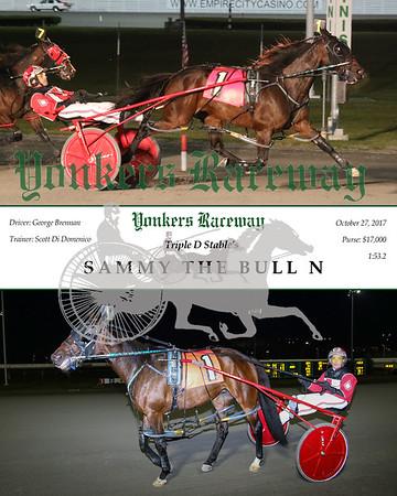 20171027 Race 5- Sammy The Bull n