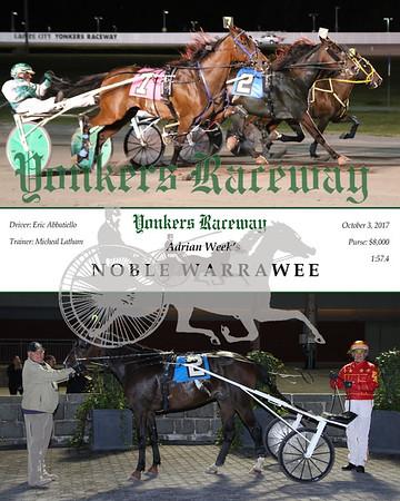 20171003 Race 2- Noble Warrawee