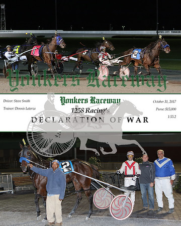 20171031 Race 6- Declaration Of War