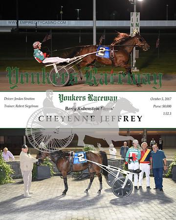 20171005 Race 3- Cheyenne Jeffrey