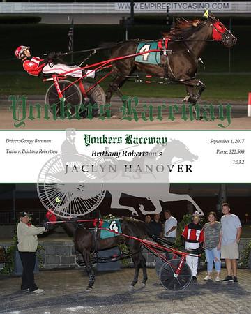 20170901 Race 10- Jaclyn Hanover