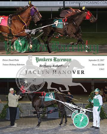 20170922 Race 4- Jaclyn Hanover