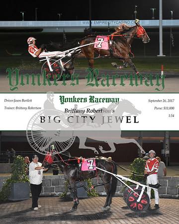 09262017 Race 5-Big City Jewel