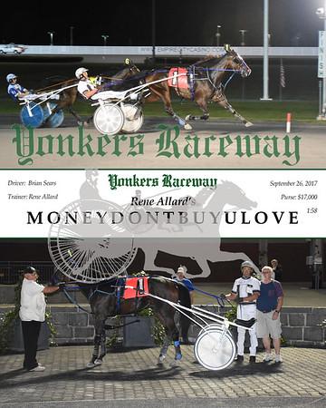 09262017 Race 11-Moneydontbuyulove