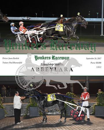 09262017 Race 3-Abbeylara