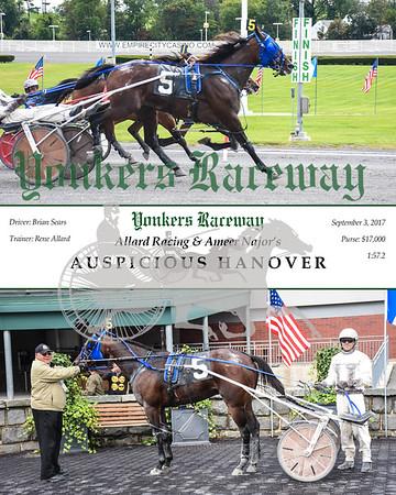 20170903 Race 9- Auspicious Hanover