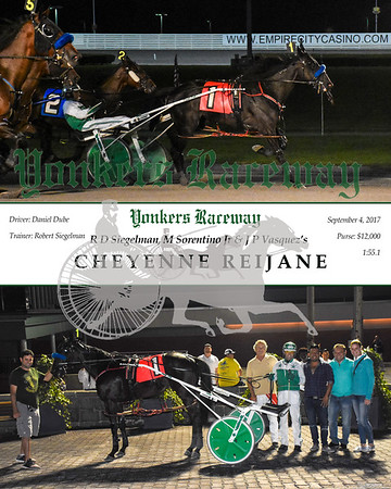 20170904 Race 4- Cheyenne Reijane