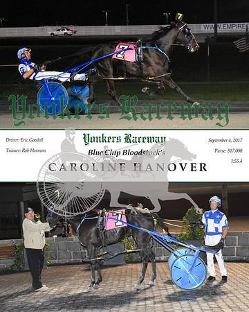 20170904 Race 5- Caroline Hanover