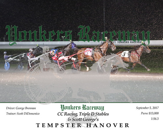 20170905 Race 4- Tempster Hanover