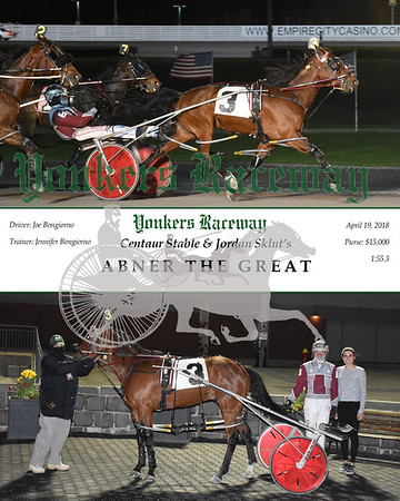 20180419 Race 9- Abner The Great