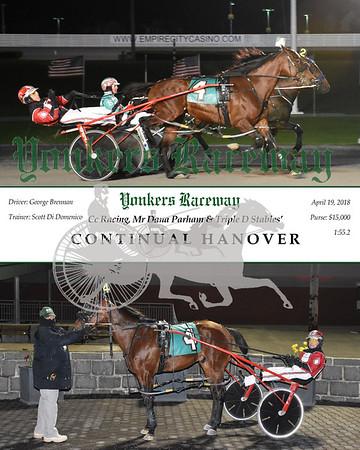 20180419 Race 10- Continual Hanover