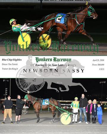 20180421 Race 5- Newborn Sassy wDaniel
