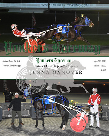 20180423 Race 8- Jenna Hanover
