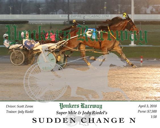 20180403 Race 1- Sudden Change n