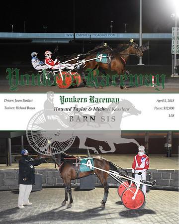 20180405 Race 4- Barn Sis