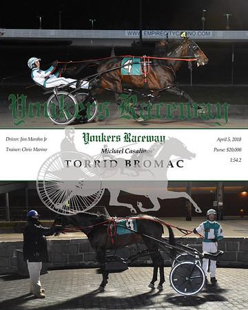 20180405 Race 12- Torrid Bromac N