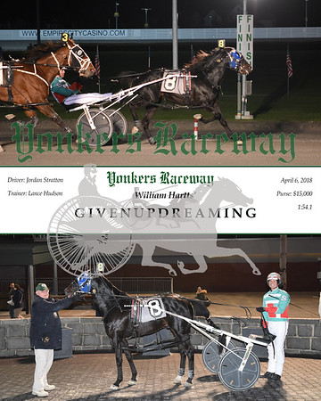 20180406 Race 4- Givenupdreaming