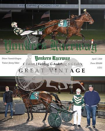 20180407 Race 5- Great Vintage