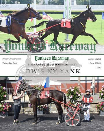 20180812 Race 8-DW's NY Yank