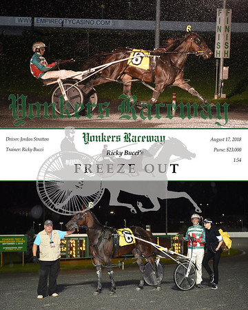 20180817 Race 11-Freeze Out