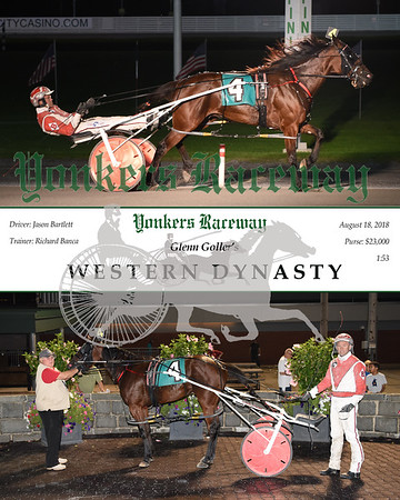 20180818 Race 10-Western Dynasty