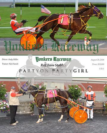 20180820 Race 1- Partyon Partygirl
