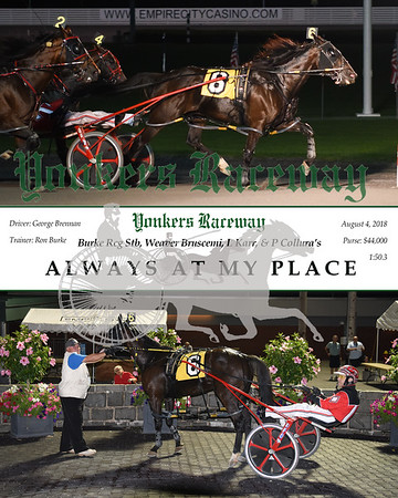 08042018 Race 6-Always At My Place