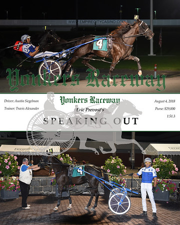 08042018 Race 10-Speaking Out