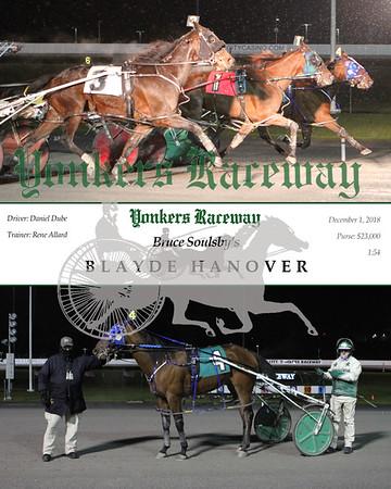 20181201 Race 5- Blayde Hanover