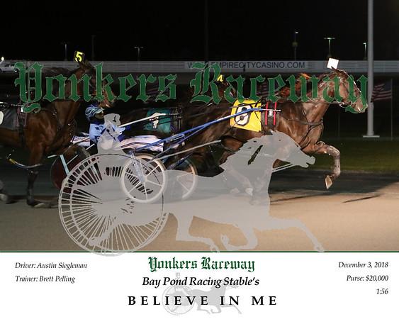 20181203 Race 6- Believe In Me 2