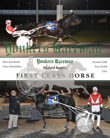 20181204 Race 8- First Class Horse