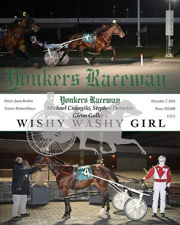 20181207 Race 7-Wishy Washy Girl