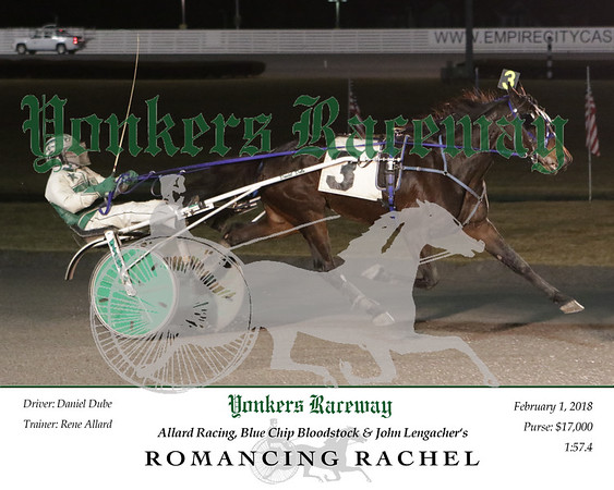 20180201 Race 7- Romancing Rachel