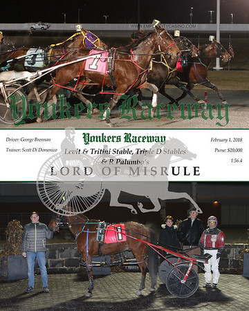 20180201 Race 8- Lord Of Misrule